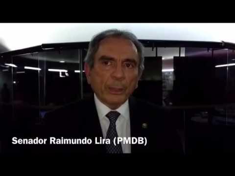 Três senadores da Paraíba pelo impeachment